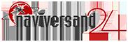 Auto Navigation CD DVD Software von TomTom, Navteq/Here, Tele Atlas und Blaupunkt-Logo