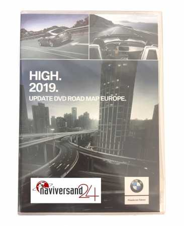 BMW - High Road Map Europa DVD 2019 Navigationssoftware Navi-Update Navi DVD MK4 E46 E39 E53 E83