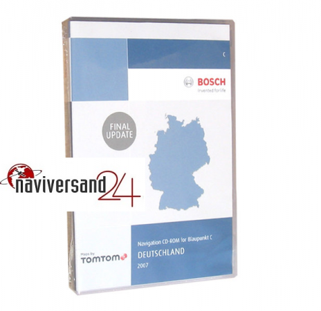 Deutschland 2007 ohne DX Final Update Blaupunkt Tele Atlas Navigation CD MFD MCD