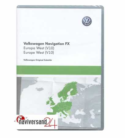 Travel Pilot FX 2018/2019 Westeuropa SD-Card VW RNS 310, Skoda RNS Amundsen, Seat Media 2.0 Navigation Update