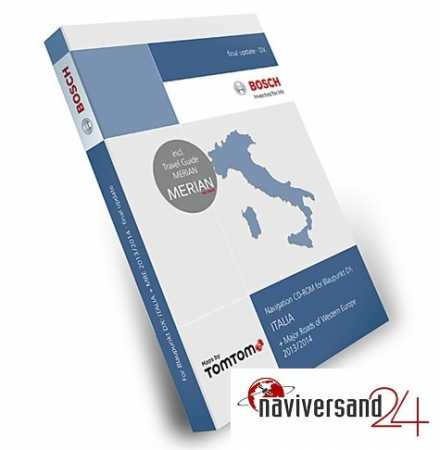 Italien DX 2013/2014 Blaupunkt Tele Atlas TomTom Travel Pilot DX Navigation CD