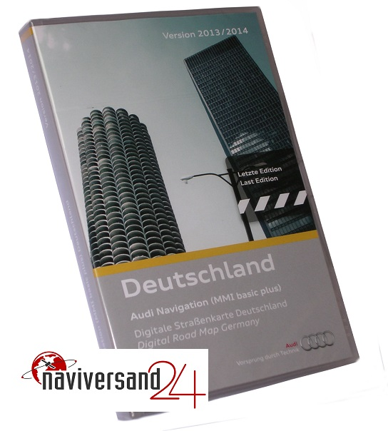 audi mmi basic navi cd deutschland 2013 2014 last edition. Black Bedroom Furniture Sets. Home Design Ideas