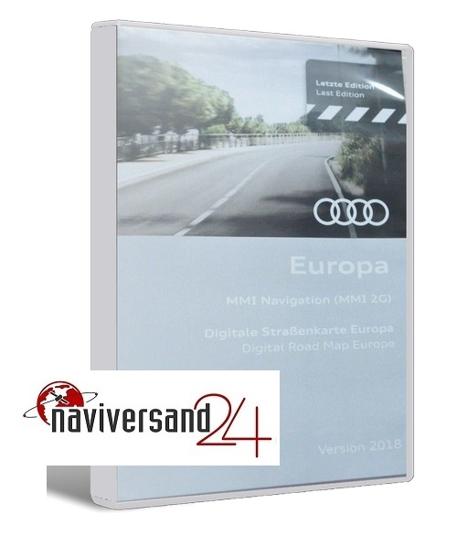 audi mmi 2g 2018 navigation dvd europa auto navigation. Black Bedroom Furniture Sets. Home Design Ideas