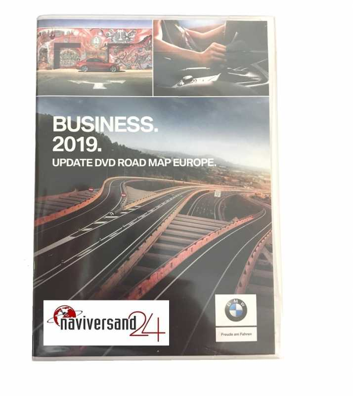 BMW - Business Road Map Europa DVD 2019 Navigation SA 606