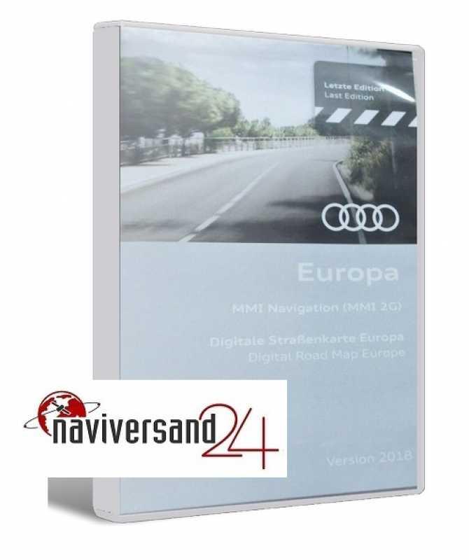 audi mmi 2g 2018 navigation dvd europa auto navigation cd dvd software von tomtom navteq. Black Bedroom Furniture Sets. Home Design Ideas